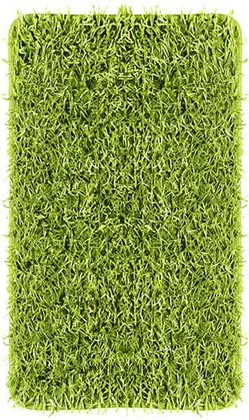 Коврик для ванной комнаты 70x120см зелёный Kleine Wolke RIVA 5471 625 225