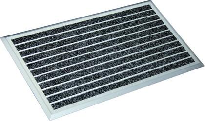 Коврик придверный 45x75см для улицы чёрный, полипропилен/алюминий Golze EXCLUSIVE MAT 1880-30-40