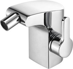 Однорычажный смеситель с донным клапаном для биде Keuco ELEGANCE 51609010000