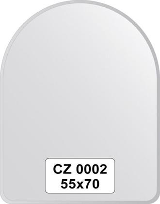 Зеркало для ванной 55x70см с фацетом 10мм FBS CZ 0002