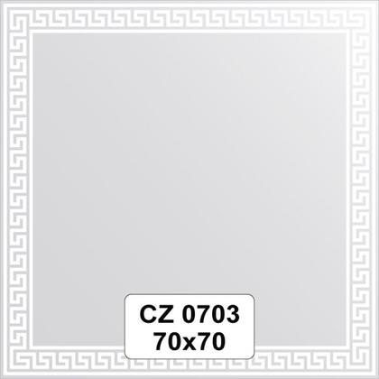 Зеркало для ванной с орнаментом 70x70см FBS CZ 0703