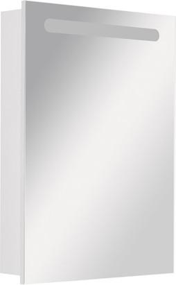 Зеркальный шкаф левый с флюоресцентной подсветкой 60.6х81.0см Roca VICTORIA NORD ZRU9000029