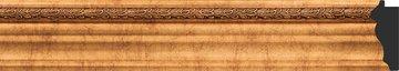 Зеркало с фацетом в багетной раме 56x86см римское золото 88мм Evoform BY 3412