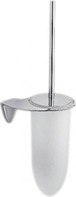 Туалетный ёрш со стеклянной колбой и держателем, хром Colombo KHALA B1807