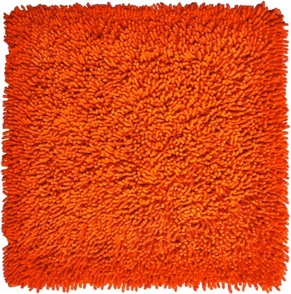Коврик для ванной 55x55см оранжевый Grund CORALL 2624.61.7264