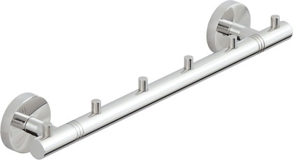 Вешалка 6 крючков L320 хром Сунержа Каньон 00-3000-1006