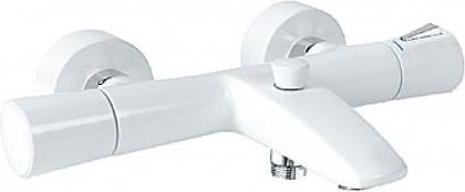 Термостат с изливом для ванны, белый / хром Kludi ZENTA 351019138