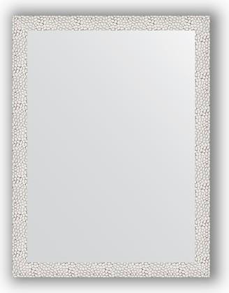 Зеркало в багетной раме 61x81см чеканка белая 46мм Evoform BY 3162