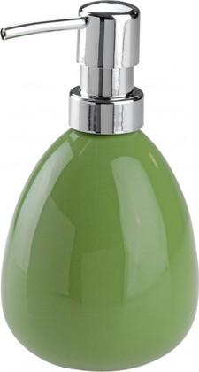 Ёмкость для жидкого мыла зелёная Wenko POLARIS 18288100