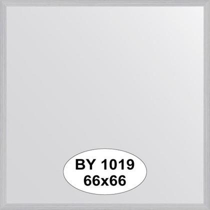 Зеркало 66x66см в багетной раме сталь Evoform BY 1019