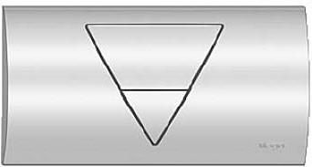 Кнопка смыва для инсталляции для унитаза металлическая хромированная Viega Visign for Life 1 462451