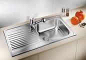 Кухонная мойка оборачиваемая с крылом, нержавеющая сталь полированная Blanco TIPO XL 6 S 511908