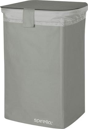 Корзина для белья 50л серая Spirella CLASSIC-L 1017859