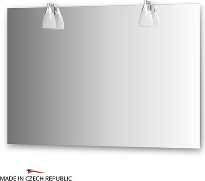 Зеркало со светильниками 110х75см Ellux ROM-A2 0214