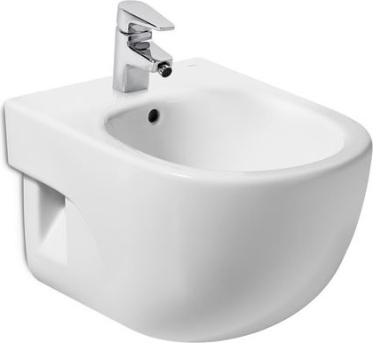 Керамическое подвесное белое биде компакт Roca MERIDIAN 357246000