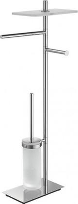 Стойка с аксессуарами для ванной и туалета поворотная 810мм, хром Colombo SQUARE B9908