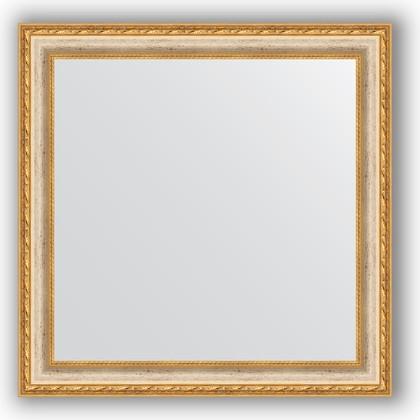 Зеркало в багетной раме 65x65см версаль кракелюр 64мм Evoform BY 3141