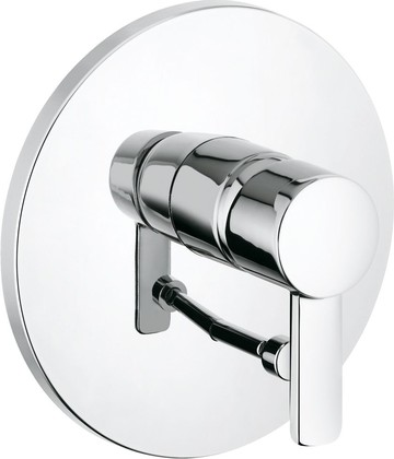 Смеситель для ванны однорычажный встраиваемый без излива, хром Kludi ZENTA 386500575