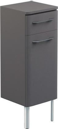 Шкаф средний напольный, 1 дверь, 1 ящик, левый, 35x34x100см Verona Moderna MD412L