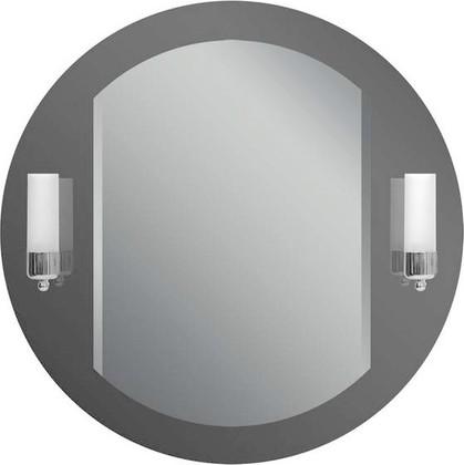 Зеркало 70x70см с фацетом и со встроенными светильниками-бра Dubiel Vitrum ADA 5905241015866