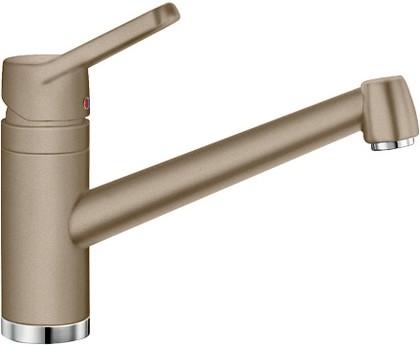 Смеситель кухонный однорычажный с длинным рычагом управления, SILGRANIT серый беж Blanco ACTIS 517632