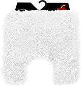 Коврик для туалета 55x55см белый Spirella HIGHLAND 1013059