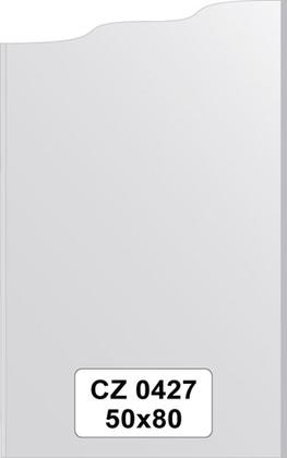 Зеркало для ванной 50x80см с фацетом 10мм FBS CZ 0427
