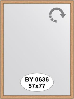 Зеркало 57x77см в багетной раме вишня Evoform BY 0636