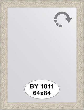 Зеркало 64x84см в багетной раме белёный дуб Evoform BY 1011