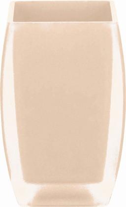 Стакан для зубных щёток бежевый Spirella FREDDO 1016092