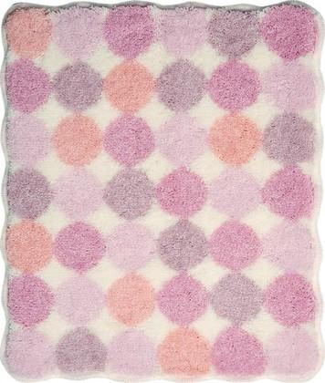 Коврик для ванной 50x60см розовый Grund AGARTI 3618.60.261