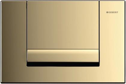 Смывная металлическая клавиша для одинарного смыва, позолота Geberit Tango 115.760.45.1