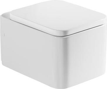 Керамический подвесной унитаз с горизонтальным выпуском, белый Roca ELEMENT 346577000