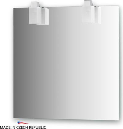 Зеркало со светильниками 75х75см Ellux RUB-A2 0210