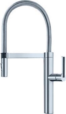 Смеситель кухонный однорычажный с выдвижным изливом, нержавеющая сталь Blanco CULINA-S Mini 519844