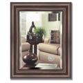 Зеркало 42x52см с фацетом 25мм в багетной раме палисандр Evoform BY 1356