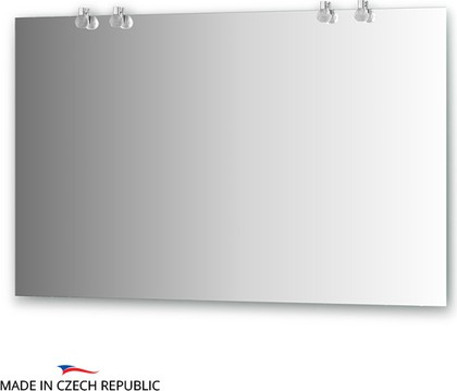 Зеркало 120х75см со светильниками Ellux CRY-B4 0215