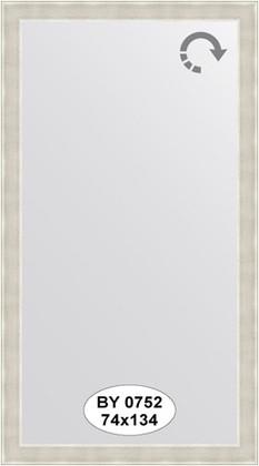 Зеркало 74x134см в багетной раме травлёное серебро Evoform BY 0752