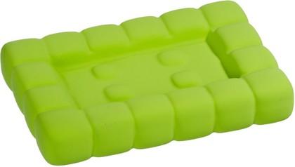 Мыльница зелёная Wenko CUBE 20450100