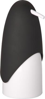 Ёмкость для жидкого мыла чёрно-белая Wenko PENGUIN 20079100