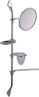 Штанга с аксессуарами для ванной 900мм, хром Colombo KHALA B1824