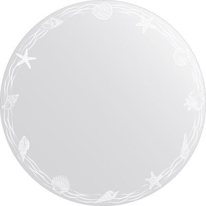 Зеркало для ванной с орнаментом диаметр 80см FBS CZ 0765