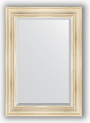 Зеркало с фацетом в багетной раме 69x99см травленое серебро 99мм Evoform BY 3445