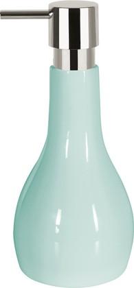 Ёмкость для жидкого мыла керамическая светло-голубая Spirella BALI 1018167