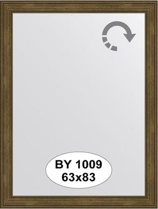Зеркало 63x83см в багетной раме сухой тростник Evoform BY 1009