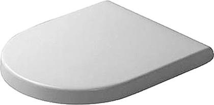 Сиденье для унитаза с крышкой и системой плавного опускания Duravit STARCK 3 0063890000