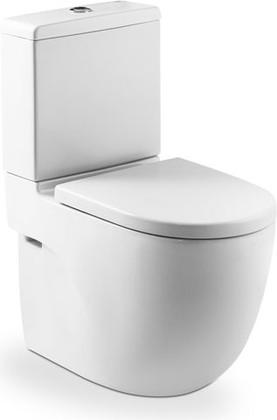 Унитаз напольный, выпуск Vario, комплект (чаша, бачок, сиденье с микролифтом) Roca MERIDIAN 342248-1