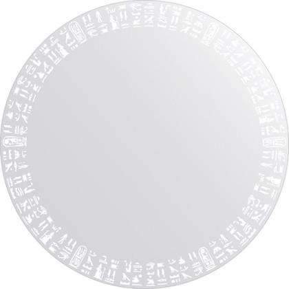 Зеркало для ванной с орнаментом диаметр 60см FBS CZ 0750
