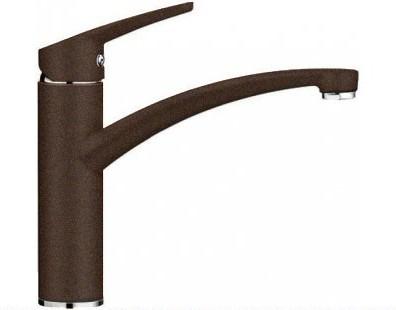 Компактный однорычажный смеситель с высоким изливом для кухонной мойки, кофе Blanco NEA 519411