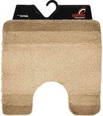 Коврик для туалета 55x55см бежевый Spirella BALANCE 1009235